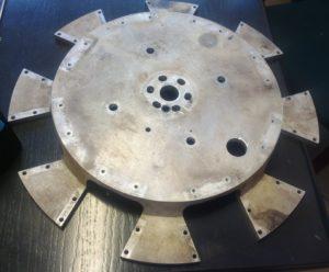 koło formatowe z aluminium z fabryki papierosów