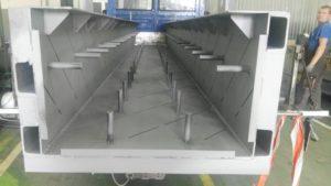 koryto dla zakładu produkującego pręty stalowe